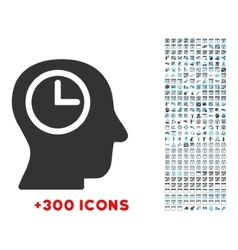 Time manager icon vector