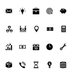 Trading Icons 1 vector image vector image