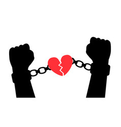 Liberation from love vector