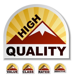 High quality value class rated addictive mountain vector