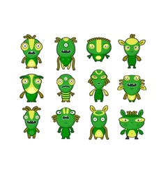 Aliens Pets vector image vector image