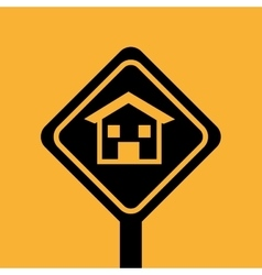 House repair sign design graphic vector