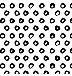Seamless pattern Abstract background with round vector image vector image