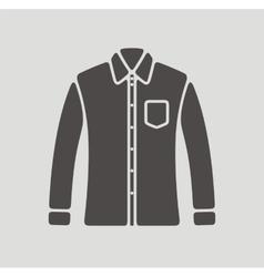 Shirt icon vector image vector image