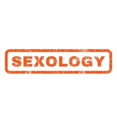 Sexology rubber stamp vector