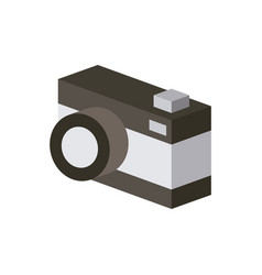 Camera isometric design vector