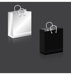 Paper Bag black and white Zagotovka vector image