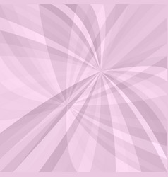 pink curved ray burst background - design vector image vector image