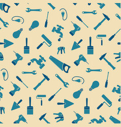 Craftsman tools pattern vector