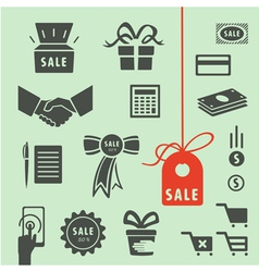 Elements shop vector image