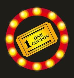 Cinema icon vector