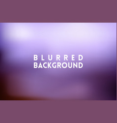 Horizontal wide blue pink blurred background vector