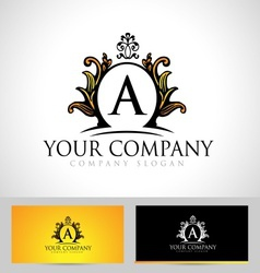 Royal letter logo vector