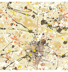 Splatter paint wallpaper vector image