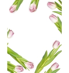 Spring - poster layout EPS 10 vector image vector image