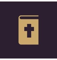 Bible icon design religion bible symbol vector