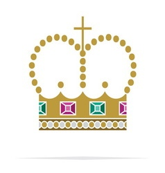 Crown icon2 resize vector
