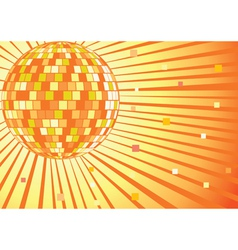 Disko mirror ball vector