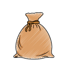 money bag symbol vector image vector image