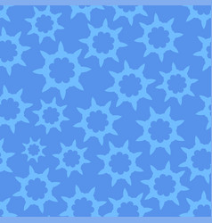 Seamless looped pattern in cold blue vector