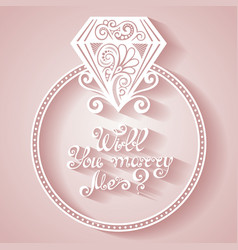 Wedding design icon vector
