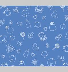 Baby blue background vector