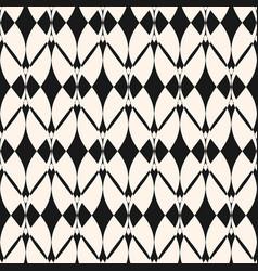geometric elegant monochrome ornament pattern vector image