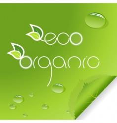 organic typography vector image vector image