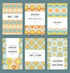 Save the date collection vector