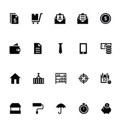 Trading icons 2 vector