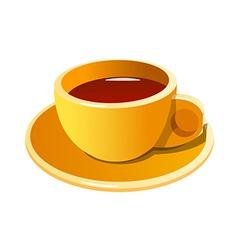 icon coffee vector image