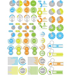 Infographics elements 2 toy vector
