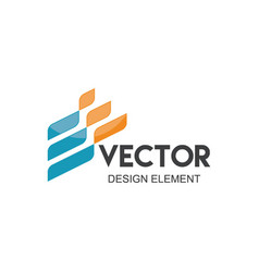 abstract company logo vector image