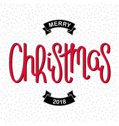 Funny merry christmas card vector