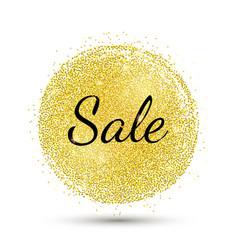 Gold-spot-sale vector