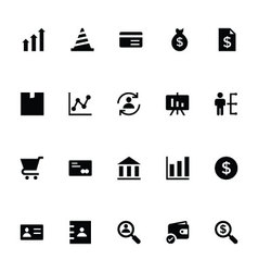 Trading icons 3 vector