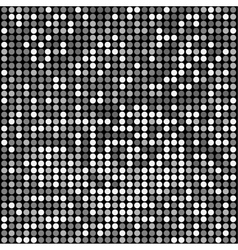 Disco black background vector
