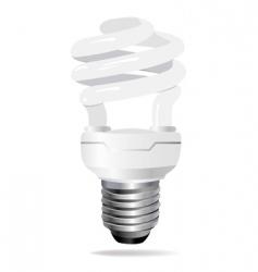 Energy saving light bulb vect vector