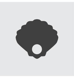 Pearl icon vector