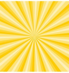 Yellow rays background vector
