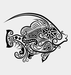 Decorative fish 2 vector image