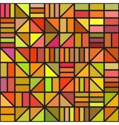 Seamless irregular block grid pattern in vector