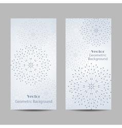 Set of vertical banners vector