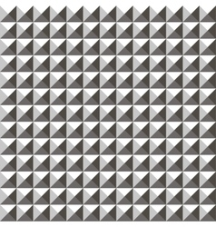 3d triangle seamless pattern vector image