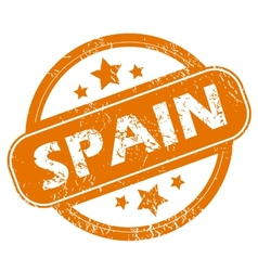 Spain grunge icon vector