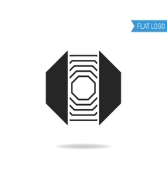 Businesstechnical engineering logo for company vector