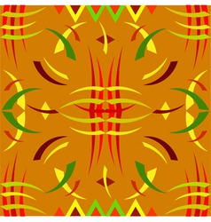 african ornament vector image vector image