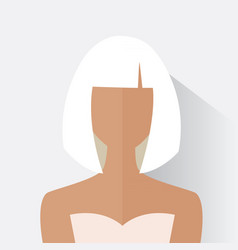 Avatar woman design vector