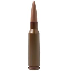 Bullet isolated vector