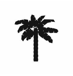 One palm tree icon simple style vector image vector image